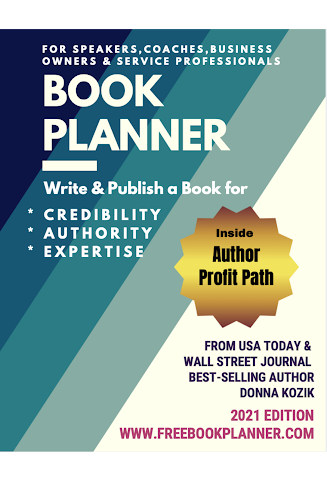 Donna Kozik Book Planner